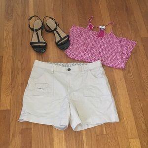 Pants - Size 14 98% cotton 2% spandex shorts